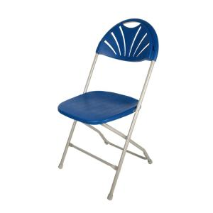 foldable table and chairs garden bar height patio apex blue indoor outdoor plastic folding chair 4 pack 98996325 the home depot