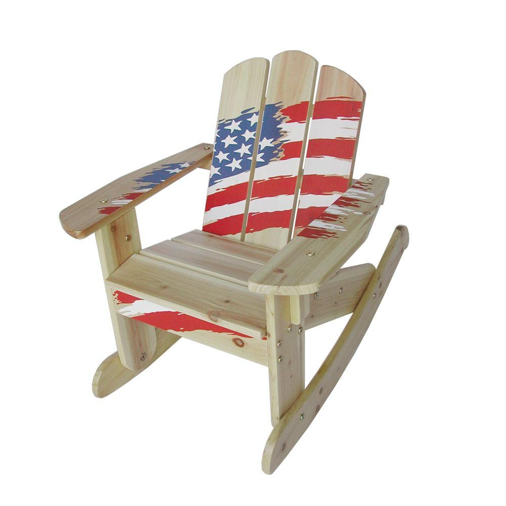 Kids Rocking Chairs Lohasrus Flag Collection Kids Rocking Chair