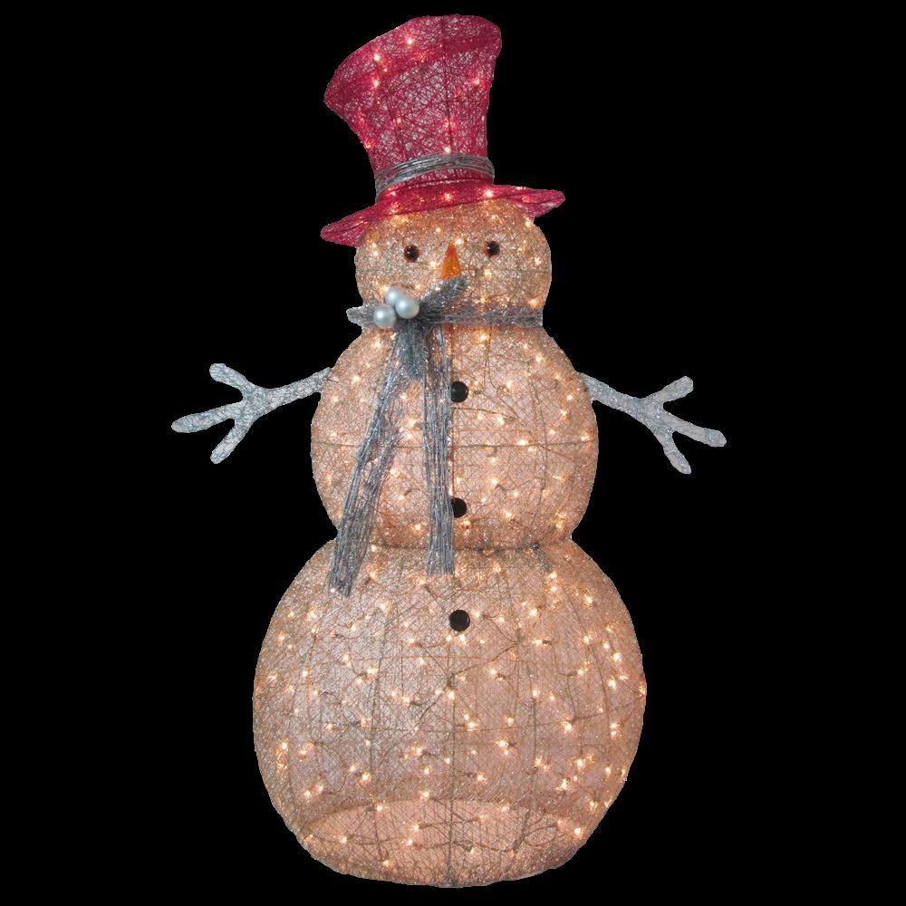 kitchen faucets at costco electrics home accents holiday 5 ft. pre-lit gold snowman-ty364-1411 ...
