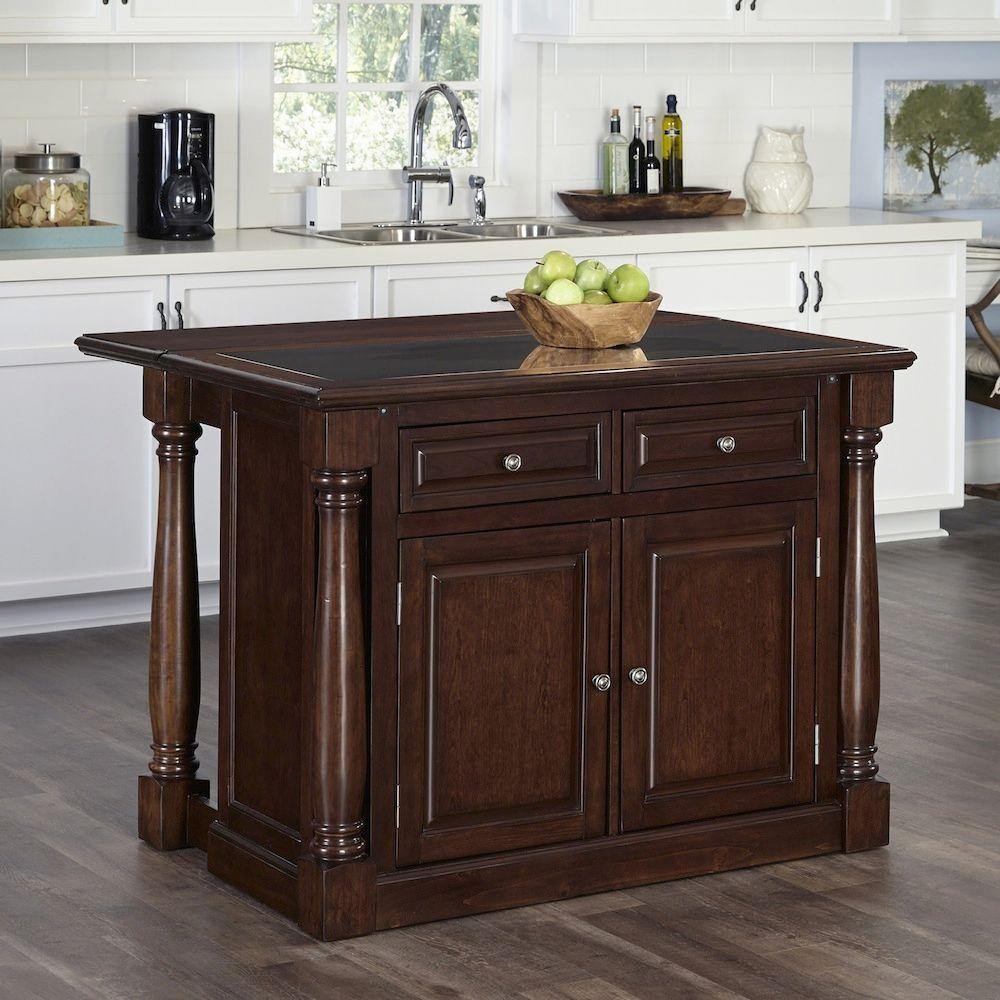 Monarch Cherry Kitchen Island With Storage5007945 The