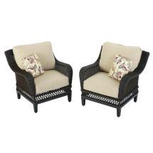 Hampton Bay Woodbury Patio Lounge Chairs