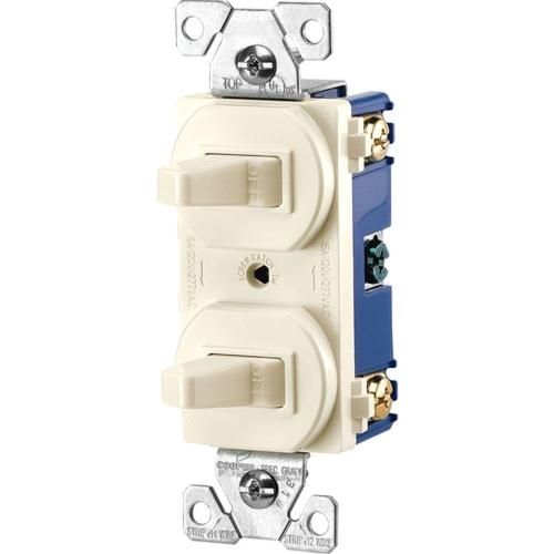 small resolution of eaton commercial grade 15 amp single pole 2 toggle switches with shop cooper wiring devices 15amp brown single pole light switch at