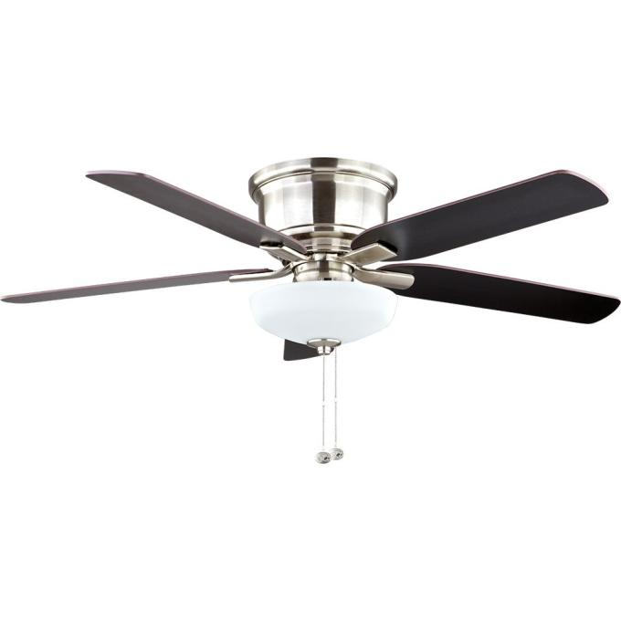 Hampton bay ceiling fans website americanwarmoms hampton bay holly springs low profile 52 in led indoor brushed full size of ceiling fans aloadofball Image collections