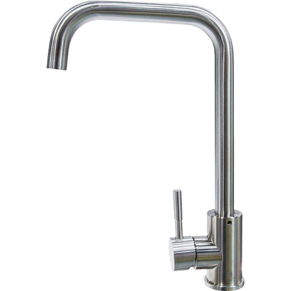 Lippert Flow Max RV Kitchen Faucet  Square Gooseneck