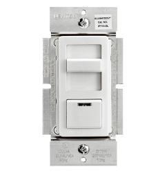 leviton illumatech slide dimmer for led 0 10v power supplies 1200va 10a led [ 1000 x 1000 Pixel ]