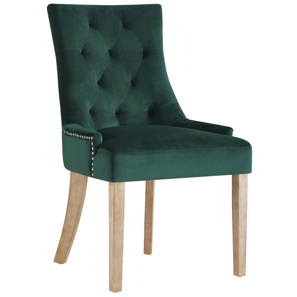 Green Upholstered Chair Modway Pose Green Upholstered Fabric Dining Chair