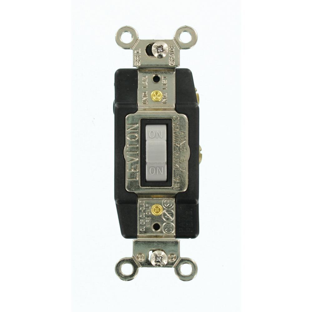 medium resolution of leviton 15 amp industrial grade heavy duty single pole double throw wiring a light switch double throw