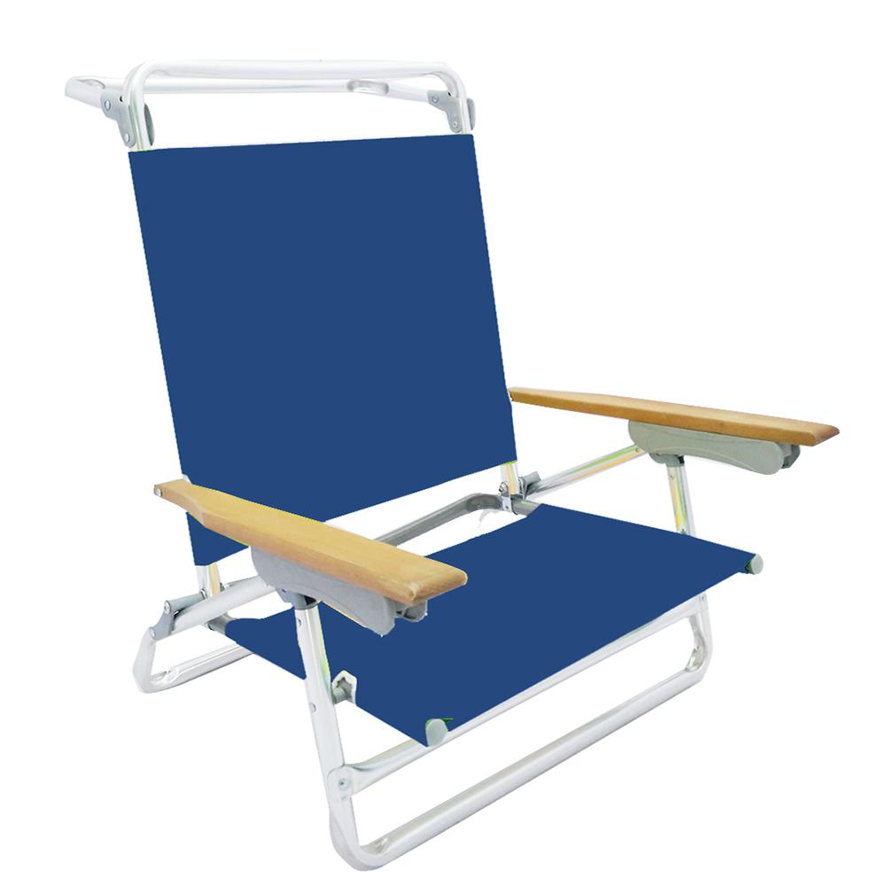beach chairs home depot kitchen table and set with booth 5 postion metal folding bar chair s2101 2b the