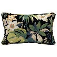 Hampton Bay Sky Tropical Lumbar Outdoor Throw Pillow ...