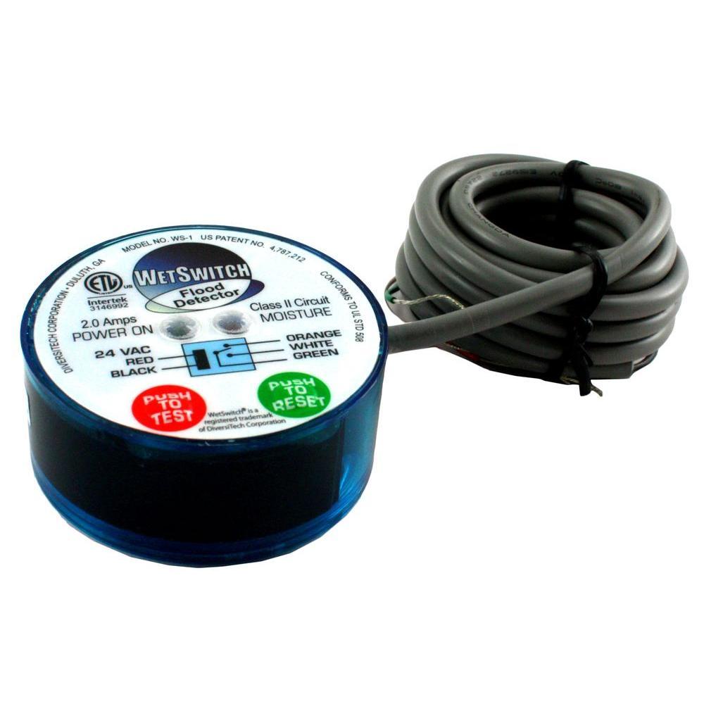 medium resolution of diversitech 24 volt wet switch flood detector