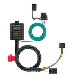curt custom wiring connector 4 way flat output 56332 the home depot trailer wiring home depot [ 1000 x 1000 Pixel ]