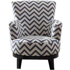 Colorful Accent Chair Keller Barber Classic Multi Colored Chairs The Home Depot Swivel Color With Chevron Pattern