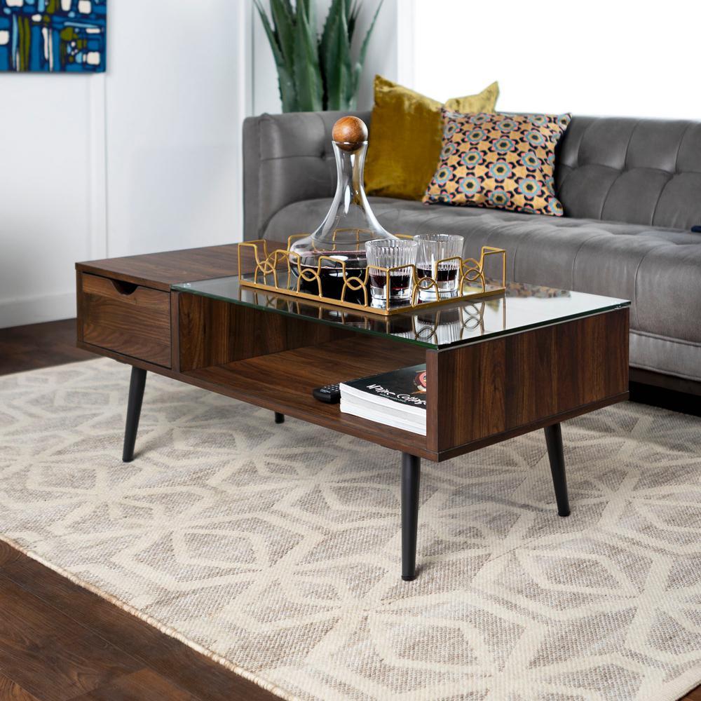walnut furniture living room curtain designs 2016 the home depot dark wood