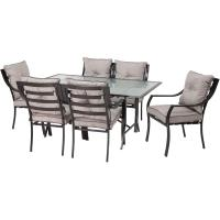 Hanover Lavallette 7-Piece Patio Outdoor Dining Set ...