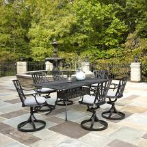 Home Styles Largo 7-piece Patio Dining Set With Cushions