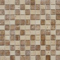 Instant Mosaic 12 in. x 12 in. Travertine Stone Backsplash ...