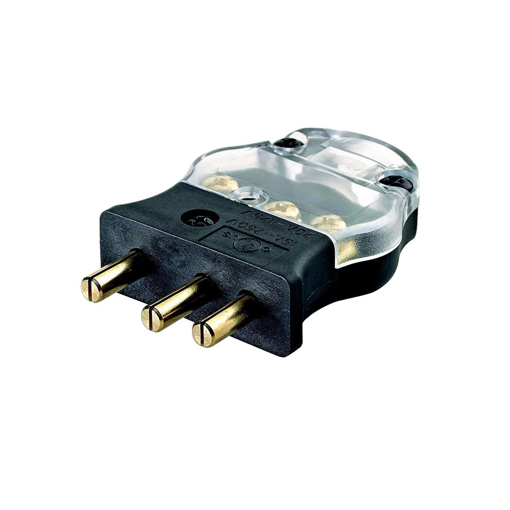 hight resolution of leviton 20 amp 125 volt 2 pole 3 wire stage pin male plug pressureleviton 20 amp