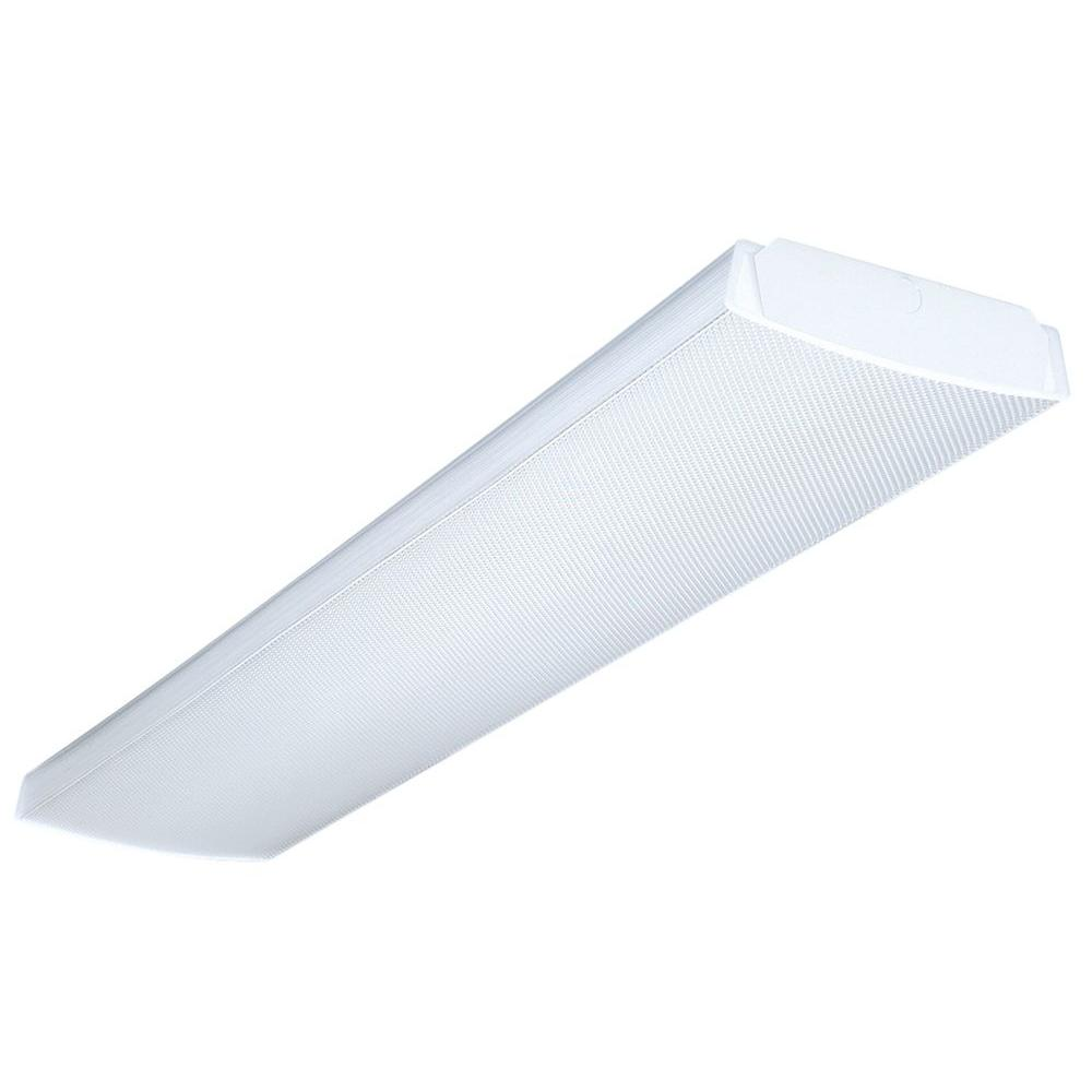 medium resolution of lithonia lighting 4 ft 4 light fluorescent wraparound lens ceiling fixture