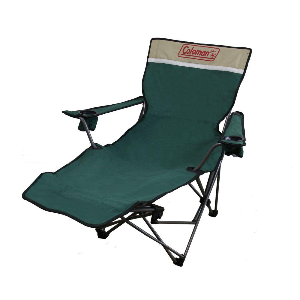 Portable Beach Chair Ore International 39 In Portable Lounge Reclining Chair In Green