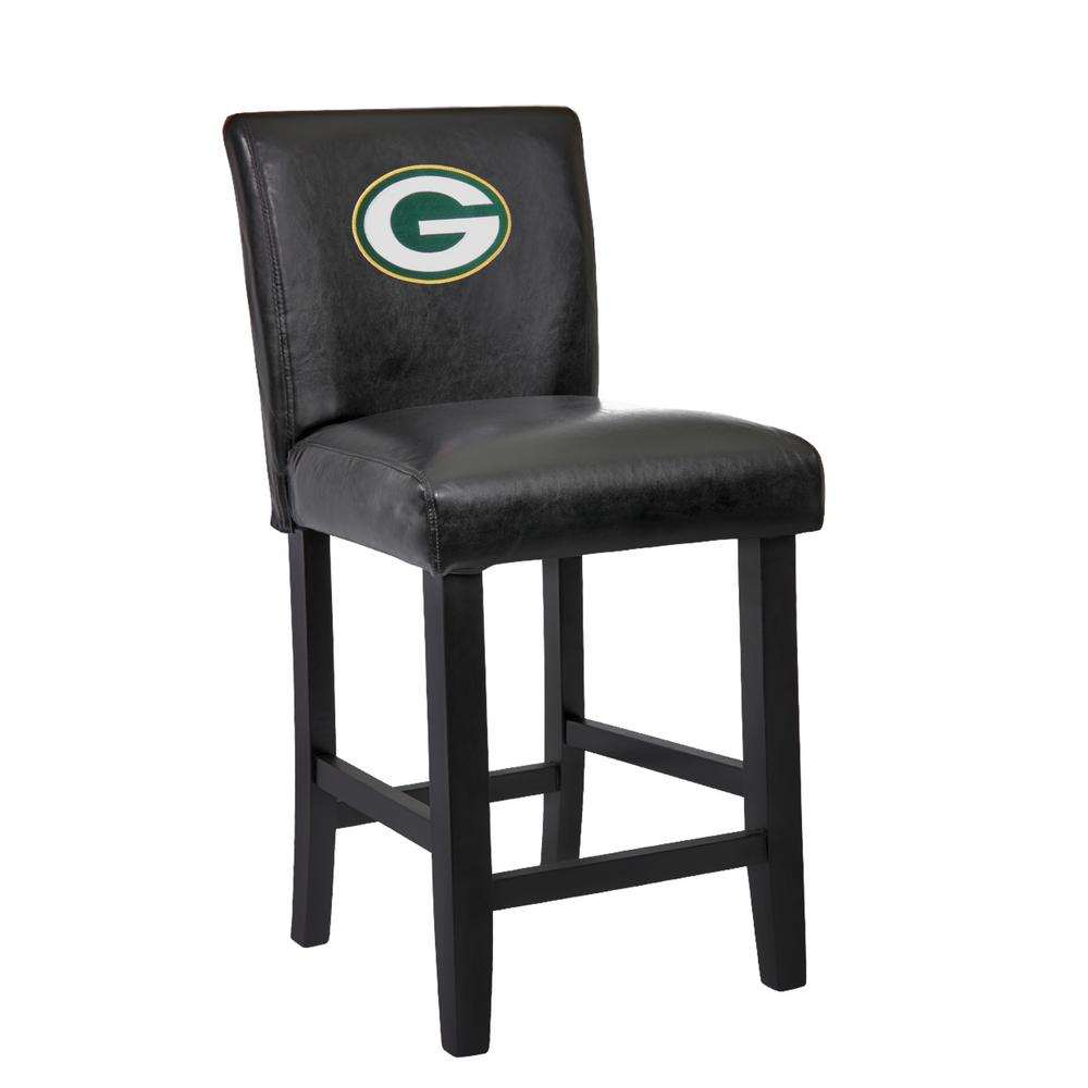 green bay packers chair rocker recliner chairs australia 24 in black bar stool with faux leather cover internet 303533420