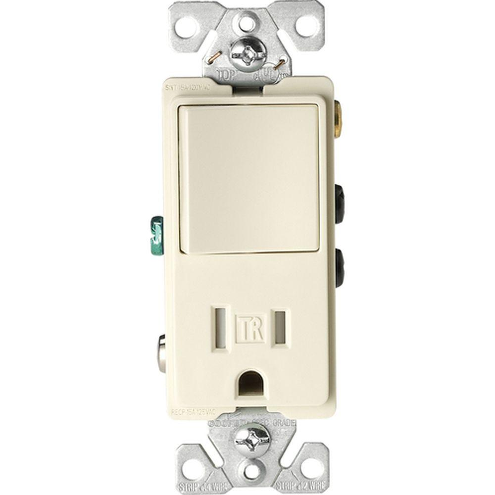 medium resolution of 15 amp tamper resistant decorator combination single pole and double pole