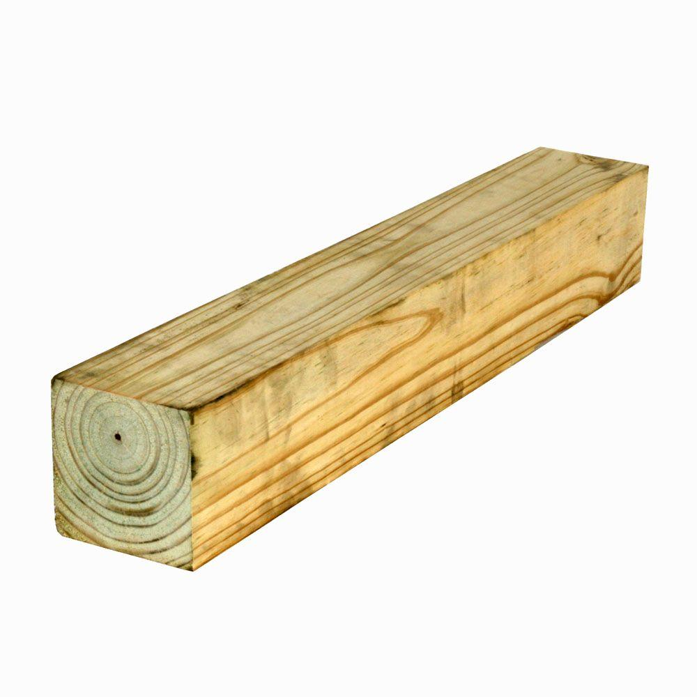 4x4x8 Pressure Treated Fence Posts