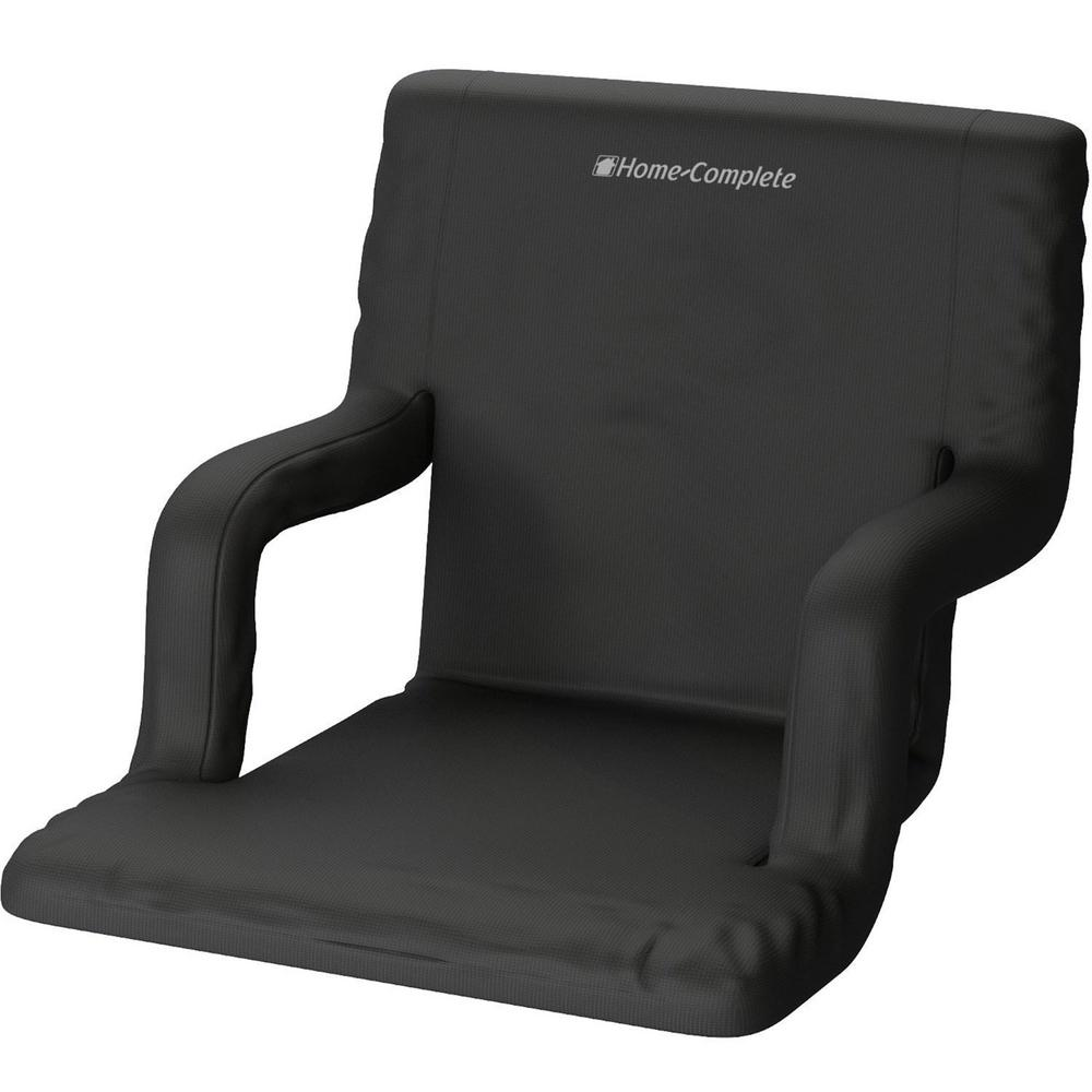 Fit Chair Home Complete Black Wide Stadium Seat Chair