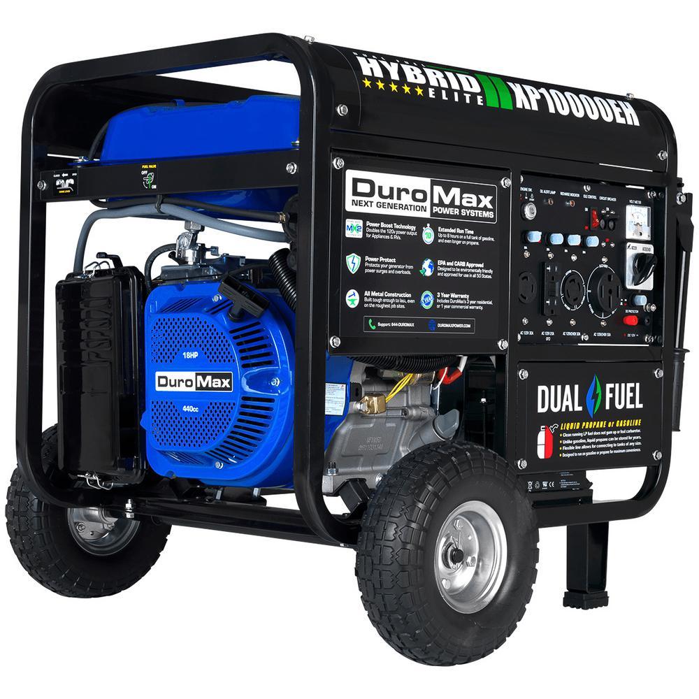 medium resolution of  10 000 8 000 watt dual fuel powered electric start portable on tractor supply generators air compressor starter kit capacitor motor wiring diagram