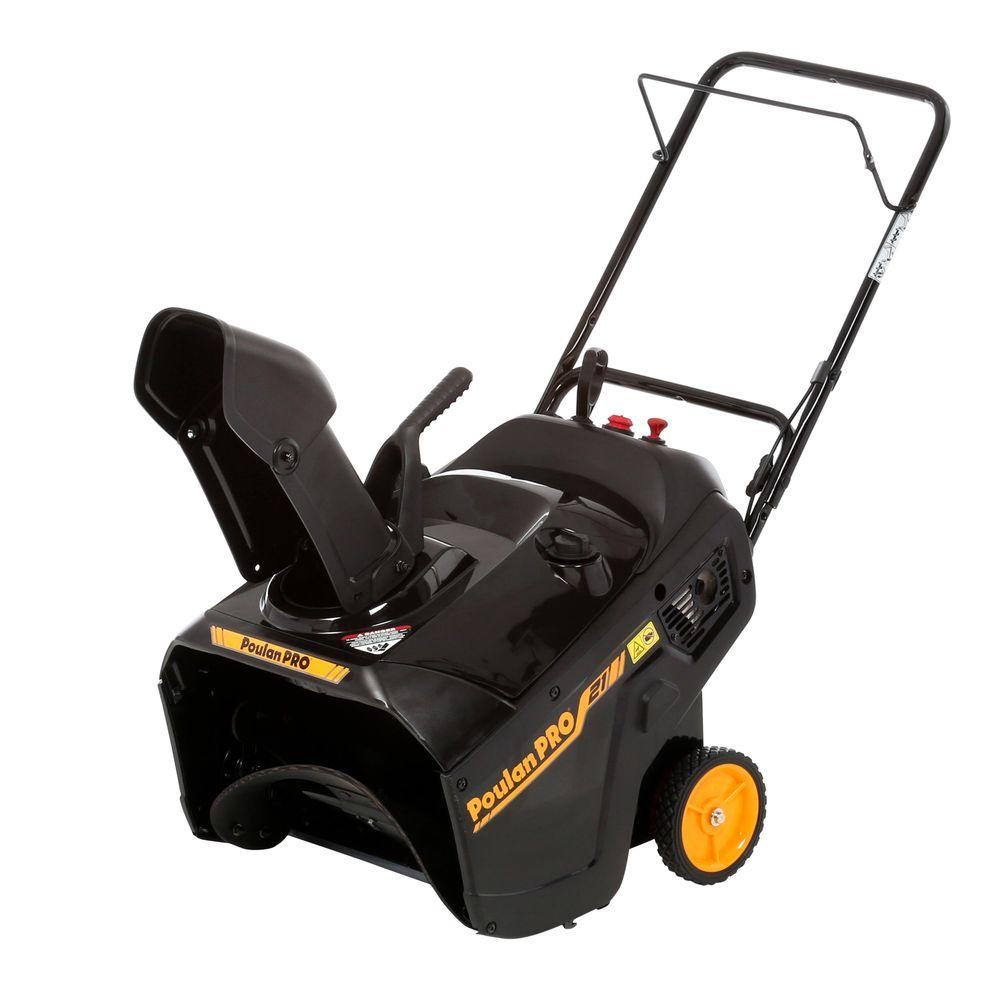 medium resolution of poulan pro pr111 21 in single stage gas snow blower
