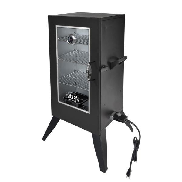 Smoke Hollow 30 In. Electric Smoker With Window-30162ew - Home Depot