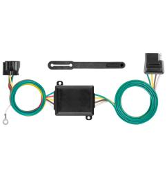 curt custom towed vehicle rv wiring harness add on 58919 the home jeep wrangler tow vehicle wiring harness tow vehicle wiring harness [ 1000 x 1000 Pixel ]