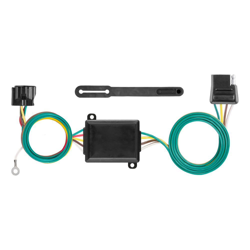 hight resolution of curt custom towed vehicle rv wiring harness add on 58919 the home jeep wrangler tow vehicle wiring harness tow vehicle wiring harness