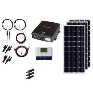 Glancing Off Grid Solar Kits Solar Panel Kits Home Depot Off