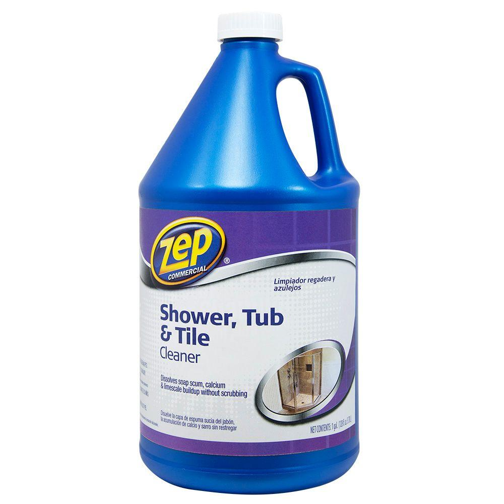ZEP 1 Gal Shower Tub and Tile CleanerZUSTT128  The Home Depot