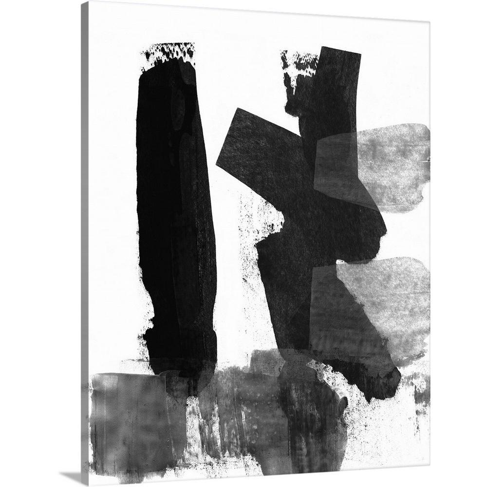 black and white brush