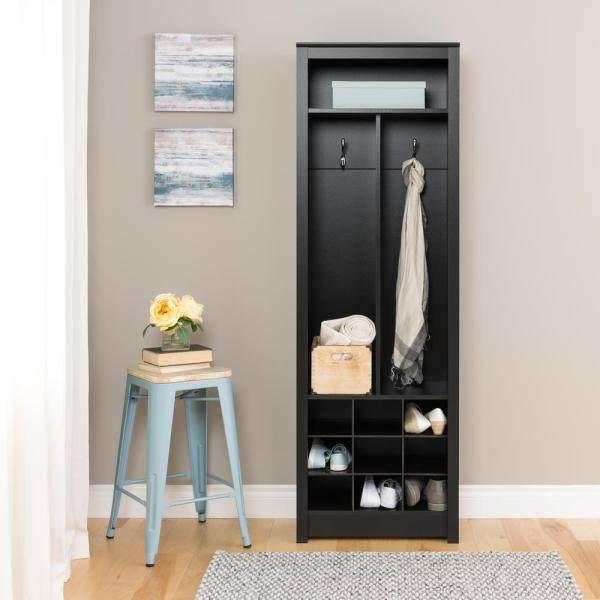 Entryway Hall Tree with Shoe Storage