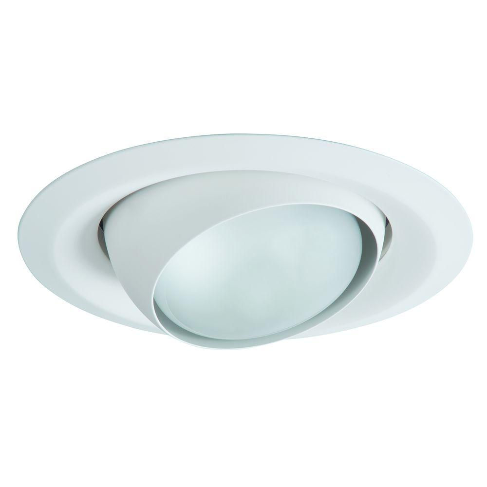 Halo E26 Series 6 in. White Recessed Ceiling Light Fixture