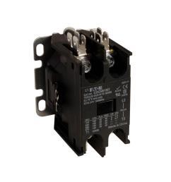 eaton 40 amp 1 pole definite purpose contactor with shunt [ 1000 x 1000 Pixel ]
