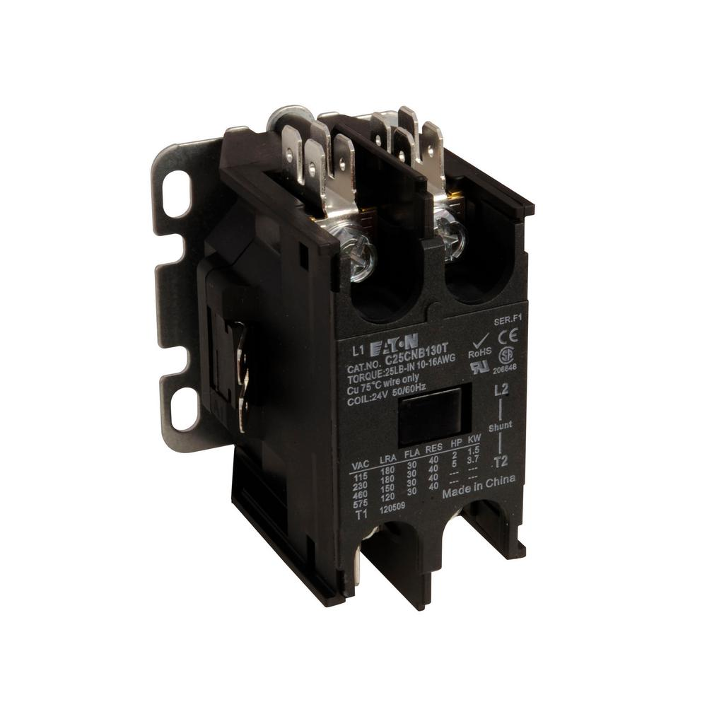 hight resolution of eaton 40 amp 1 pole definite purpose contactor with shunt
