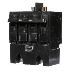 siemens 200 amp double pole 22ka type qpph circuit breaker [ 1000 x 1000 Pixel ]