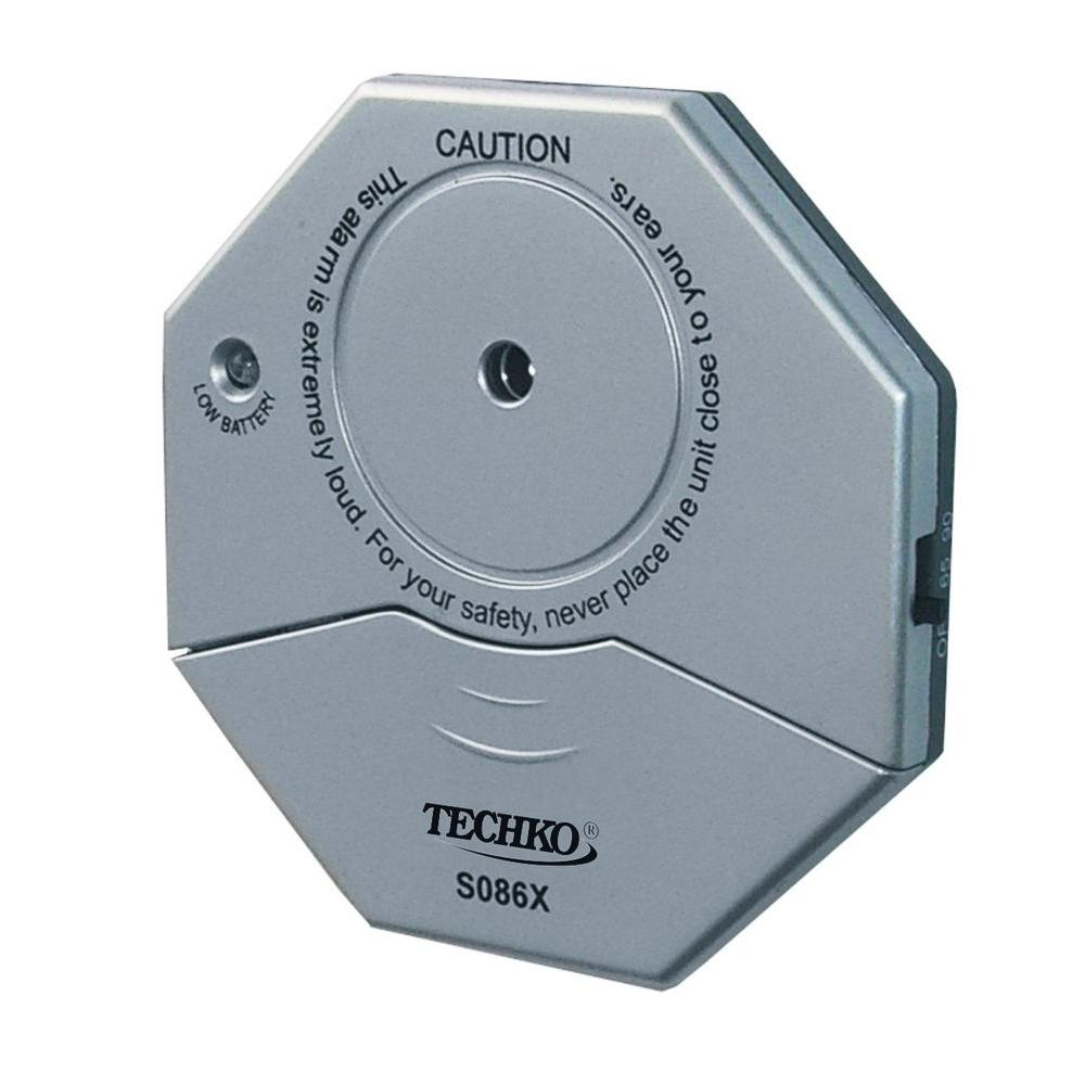 Techko Wireless Glass Vibration Sensor Door Window Alarm