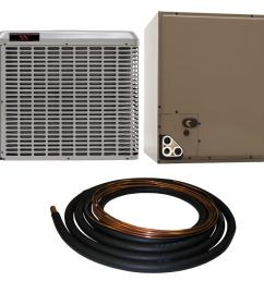 winchester 2 ton 14 seer residential whole house unit sweat a c system with 30 [ 1000 x 1000 Pixel ]