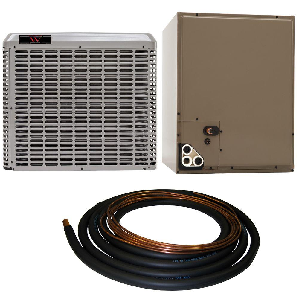 hight resolution of winchester 2 ton 14 seer residential whole house unit sweat a c system with 30