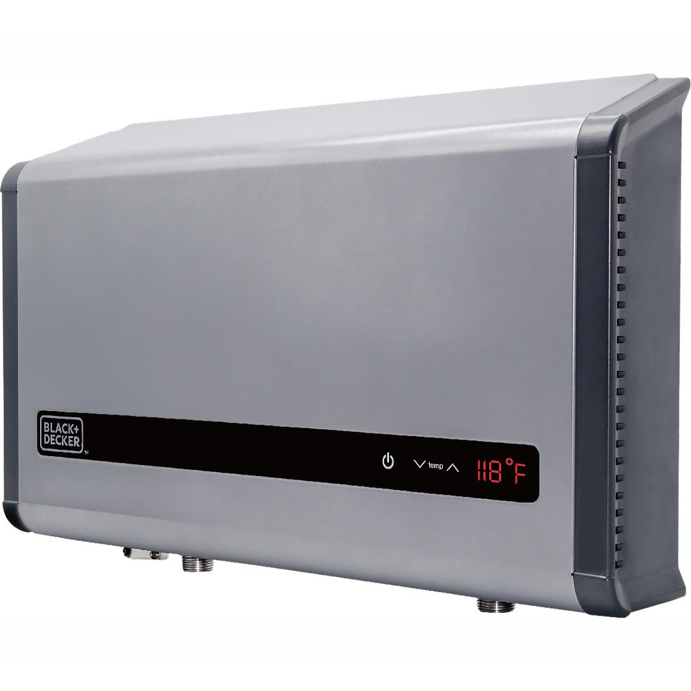 hight resolution of black decker 36 kw self modulating 6 1 gpm electric tankless water heater multi