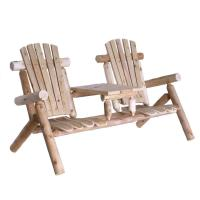 Lakeland Mills Tete-a-Tete Patio Chairs and Table-CFU129 ...