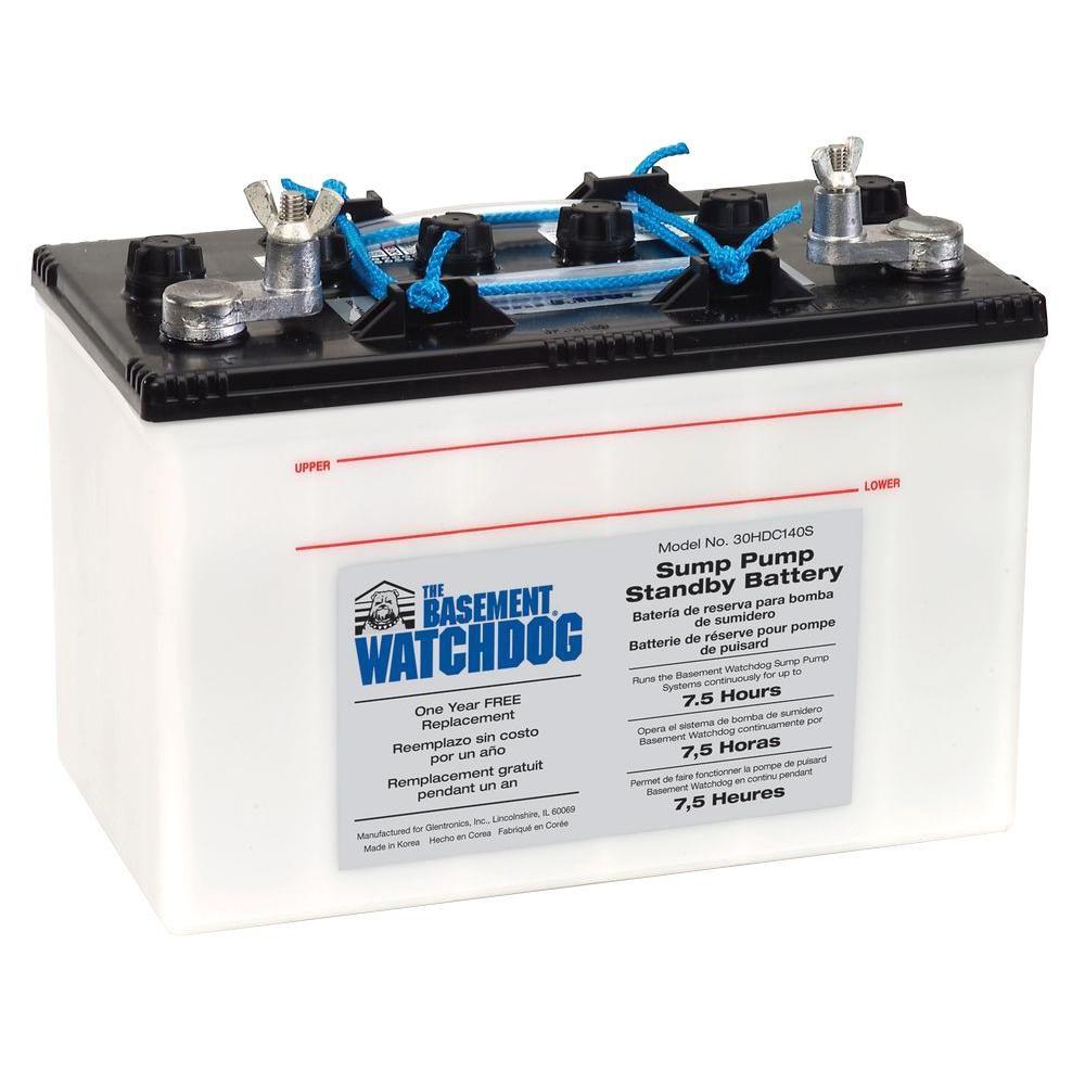 hight resolution of basement watchdog big standby battery