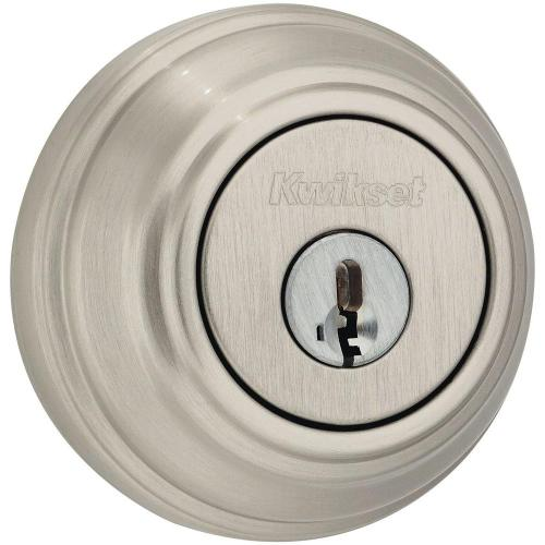 small resolution of kwikset 985 series satin nickel double cylinder deadbolt featuring smartkey security