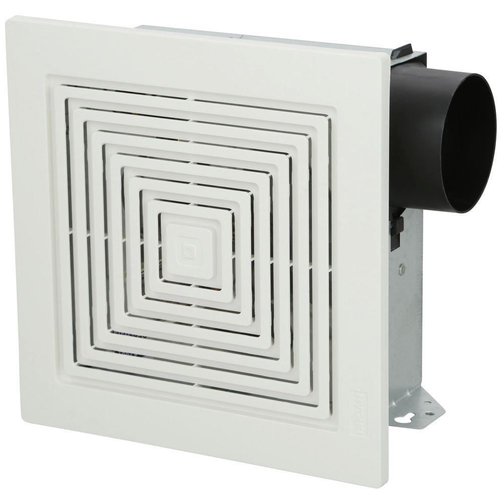 Broan Nutone 70 Cfm Wall Ceiling Mount Bathroom Exhaust Fan 671 The Home Depot