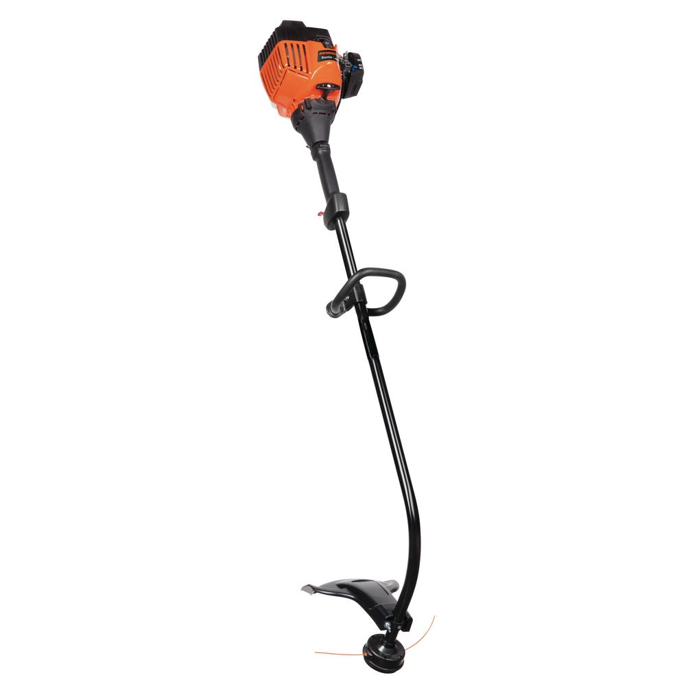 CURVED SHAFT GAS STRING TRIMMER 17 Inch 25 cc 2-Cycle