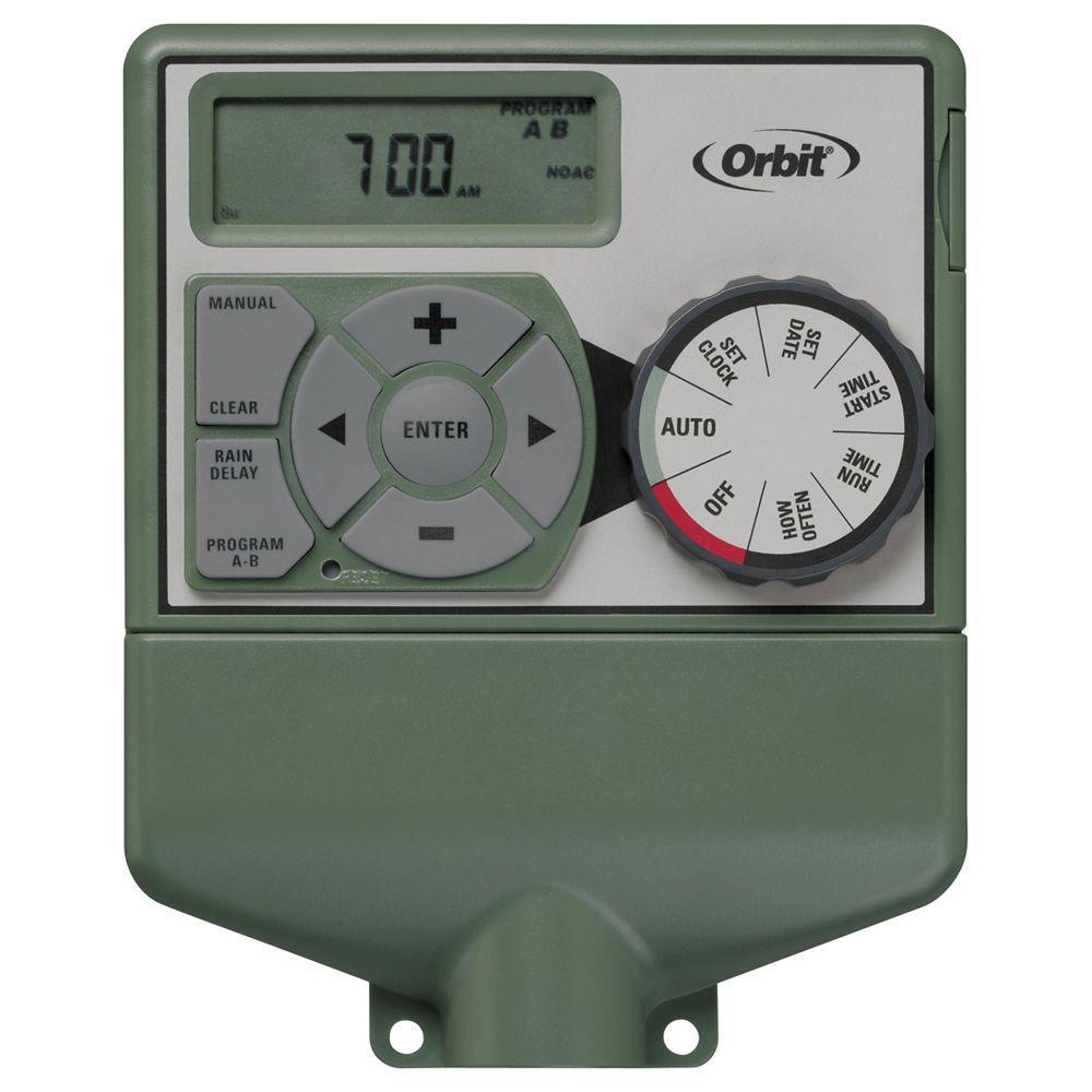 medium resolution of orbit 6 station easy dial sprinkler timer